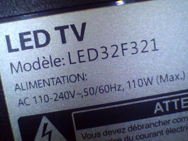 حل اللمبة الحمراء condor led32f321