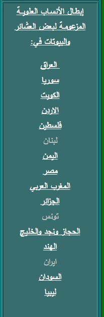 أشراف السودان عليهم إثبات نسبهم و أصولهم بقلم مهندس طارق